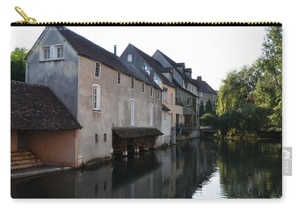 Eure River And Old Fulling Mills In Chartres Carry-all Pouch