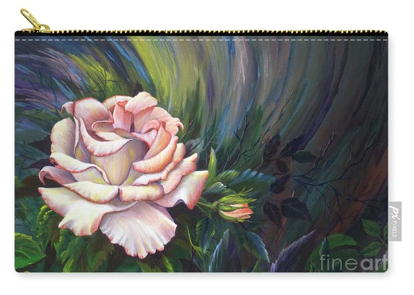 Carry-all Pouch featuring the painting Evangel Of Hope by Nancy Cupp