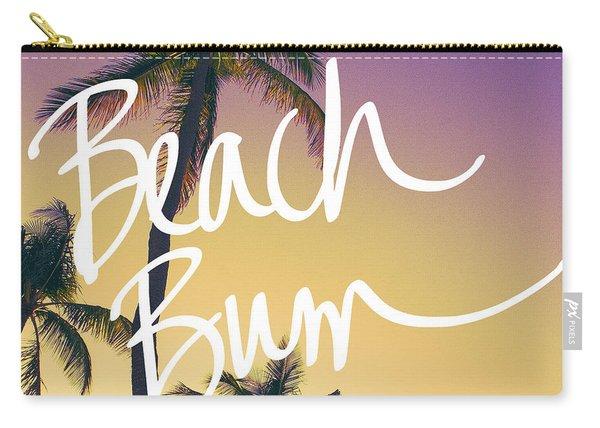 Evening Beach Bum Carry-all Pouch