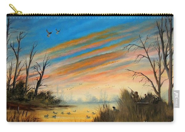Evening Duck Hunt Carry-all Pouch
