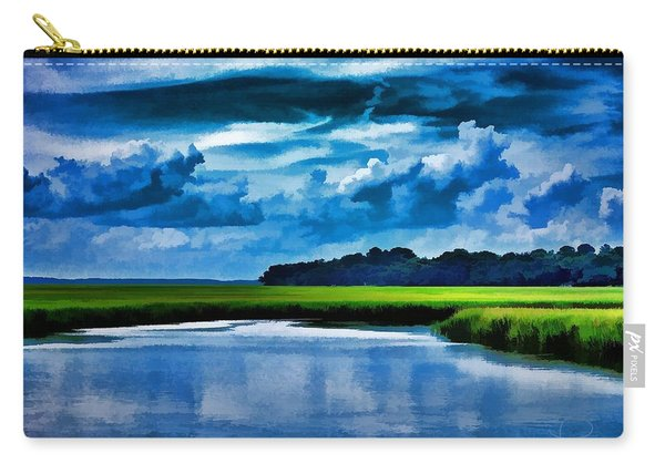 Evening On The Marsh Carry-all Pouch