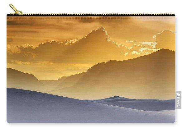 Evening Stillness - White Sands Sunset Carry-all Pouch