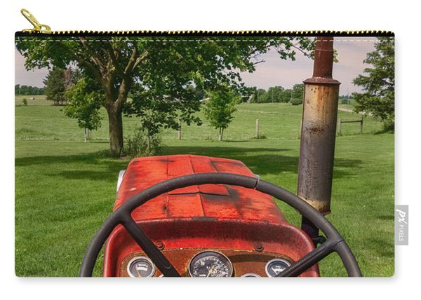Carry-all Pouch featuring the photograph Ever Drive A Tractor by Garvin Hunter