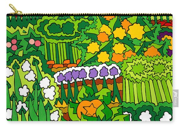 Eve's Garden Carry-all Pouch