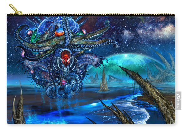 Evolutionary Space Carry-all Pouch