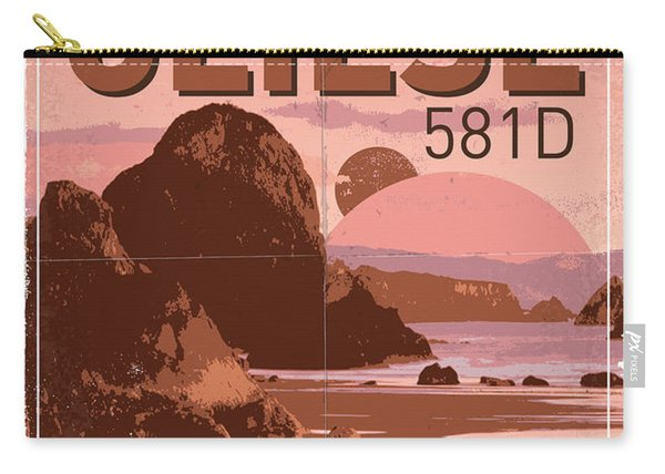 Exoplanet 01 Travel Poster Gliese 581 Carry-all Pouch