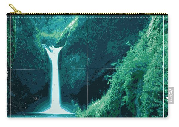 Exoplanet 04 Travel Poster Fomalhaut B Carry-all Pouch