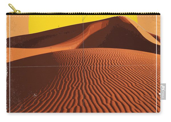 Exoplanet 05 Travel Poster Corot 4 Carry-all Pouch
