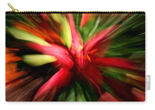 Exploding Lily Carry-all Pouch