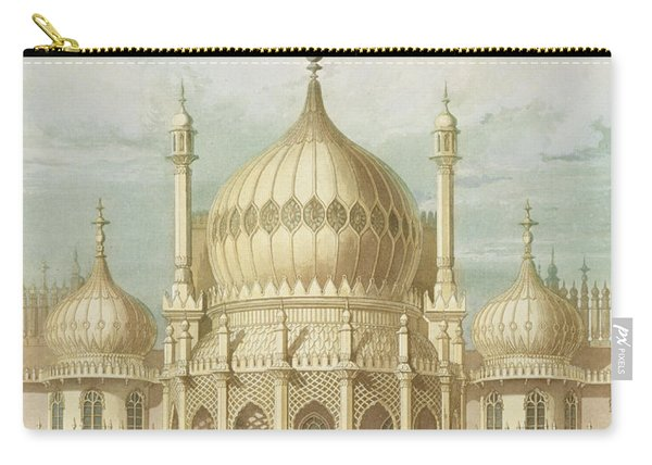 Exterior Of The Saloon From Views Of The Royal Pavilion Carry-all Pouch