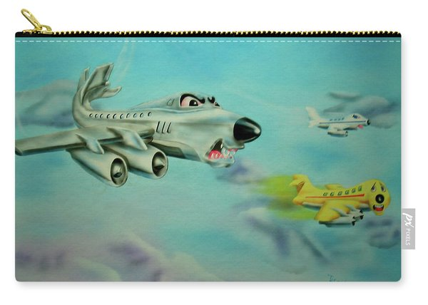 Extreme Airline Mergers Carry-all Pouch
