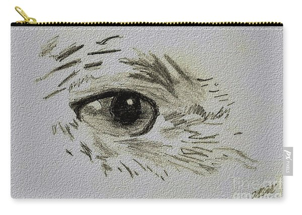 Eye - A Pencil Drawing By Marissa Carry-all Pouch