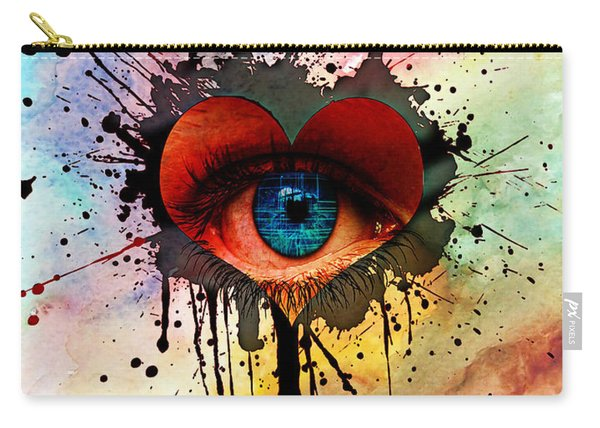 Eye Of Love Carry-all Pouch