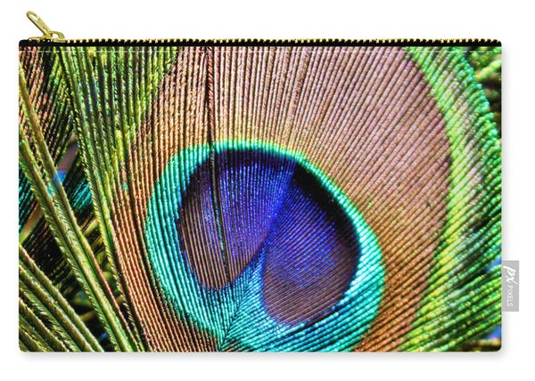 Eye Of The Feather Carry-all Pouch