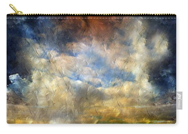 Eye Of The Storm  - Abstract Realism Carry-all Pouch