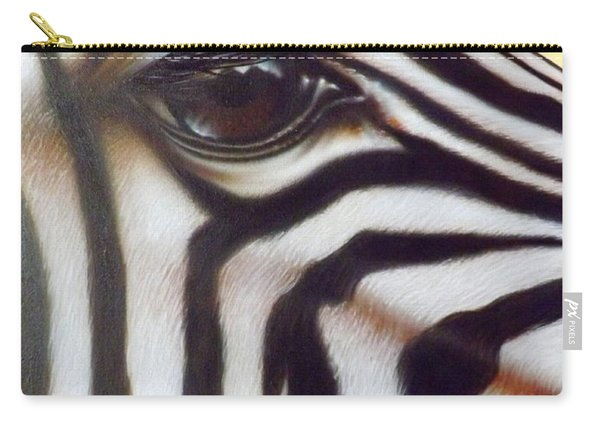 Eye Of The Zebra Carry-all Pouch