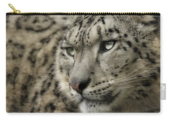 Eyes Of A Snow Leopard Carry-all Pouch