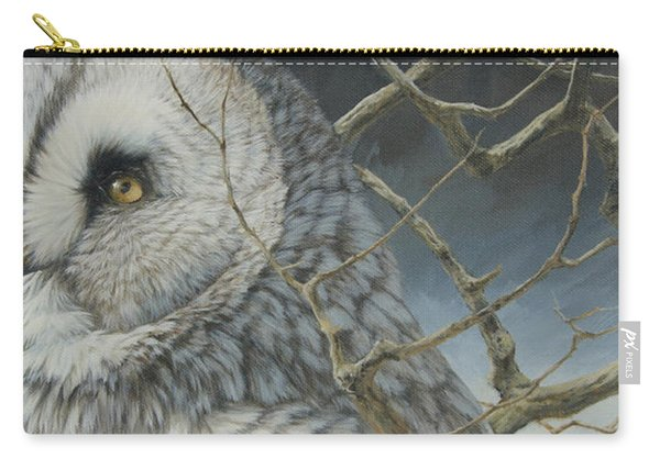 Eyes Of The Taiga Carry-all Pouch