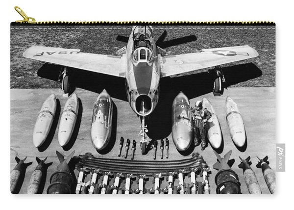 F-84f Thunderstreak Weapons Carry-all Pouch