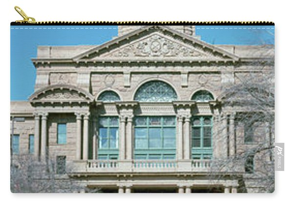 Facade Of A Courthouse, Tarrant County Carry-all Pouch
