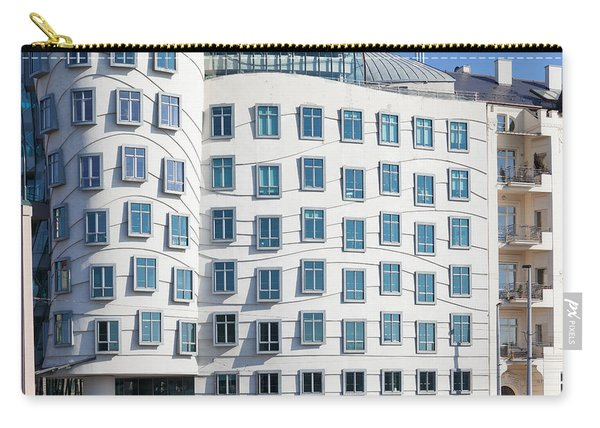 Facade Of Dancing House Or Ginger Carry-all Pouch