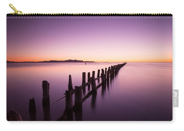 Carry-all Pouch featuring the photograph Fading by Dustin  LeFevre