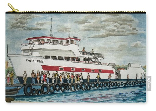 Fajardo Ferry From Vieques Puerto Rico Carry-all Pouch