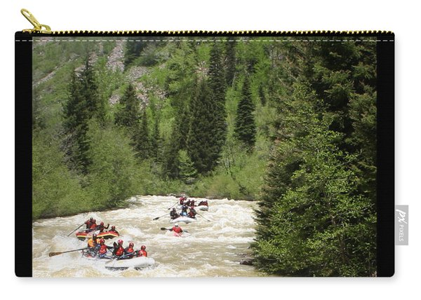 White Water Rafting On The Animas Carry-all Pouch