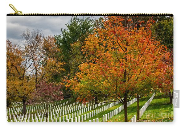 Fall Arlington National Cemetery  Carry-all Pouch