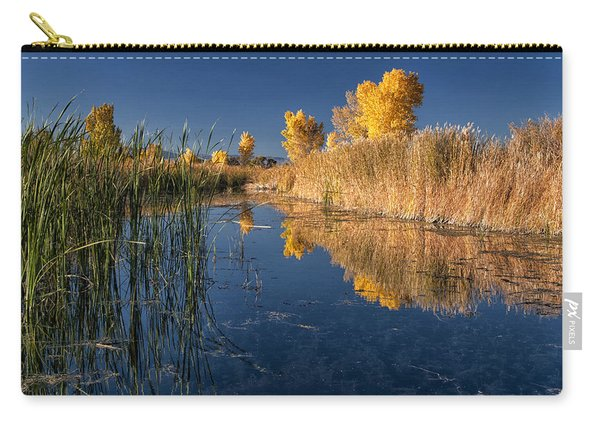 Fall At The Canal Carry-all Pouch