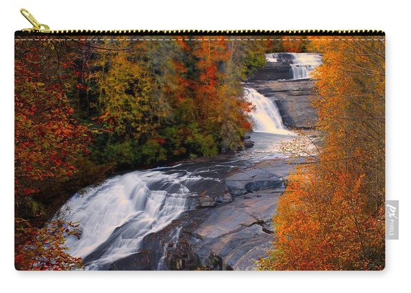 Fall At Triple Falls Carry-all Pouch