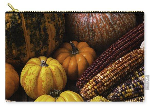 Fall Autumn Abundance Carry-all Pouch