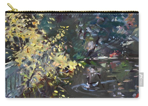 Fall By The Pond Carry-all Pouch