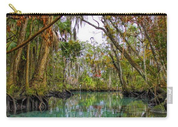 Fall Colors Along Three Sisters Spring Run Carry-all Pouch
