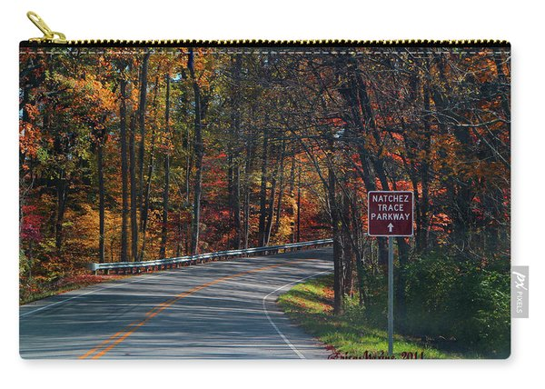 Fall Drive In Tennessee  1 Carry-all Pouch