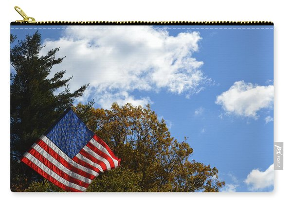 Fall Flag Carry-all Pouch