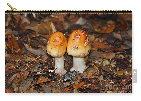 Fall Fungi Carry-all Pouch