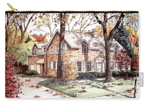 Fall Home Portriat Carry-all Pouch