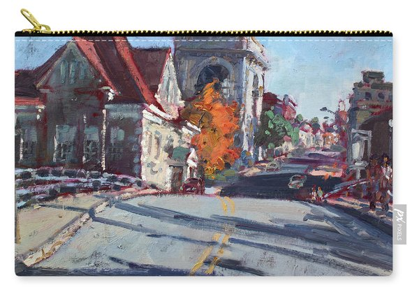 Fall In Town Of Lockport Carry-all Pouch