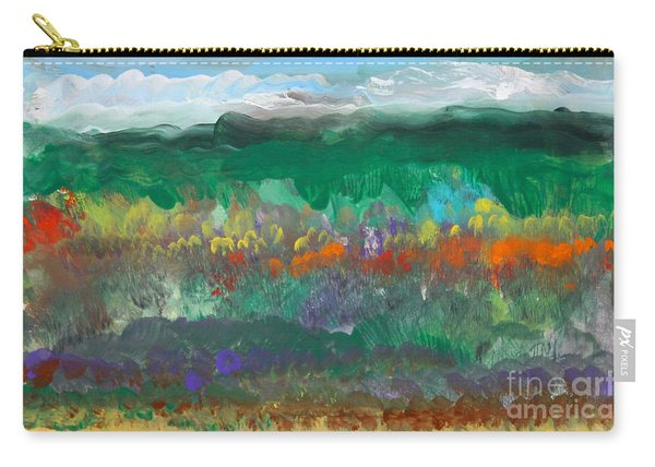 Fall Landscape Abstract Carry-all Pouch
