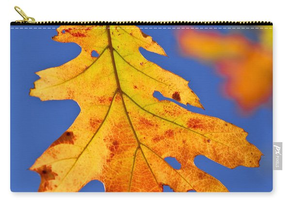 Fall Oak Leaf Carry-all Pouch