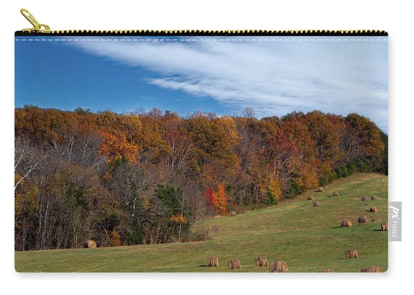 Fall On The Farm Carry-all Pouch