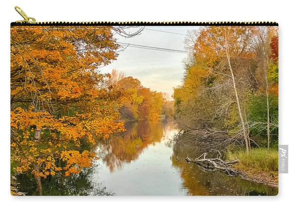 Fall On The Red Cedar  Carry-all Pouch