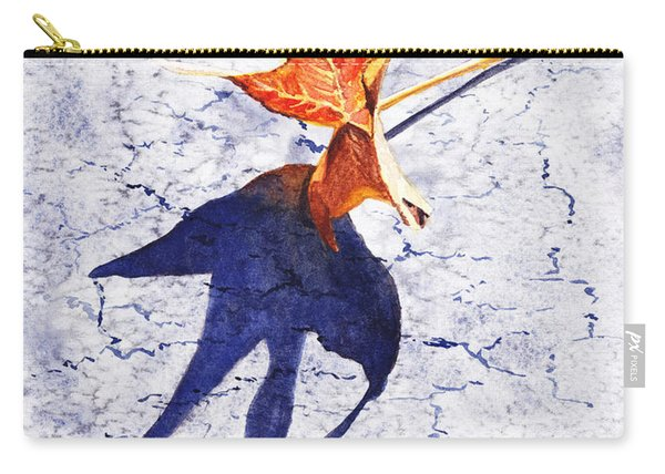 Fallen Leaf King Size Shadow Carry-all Pouch