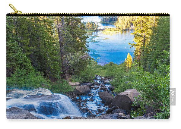Falling Down To The Lakes Carry-all Pouch