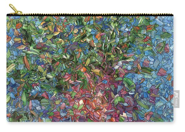 Falling Flowers Carry-all Pouch