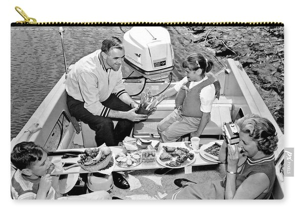 Family Boating Lunch Carry-all Pouch