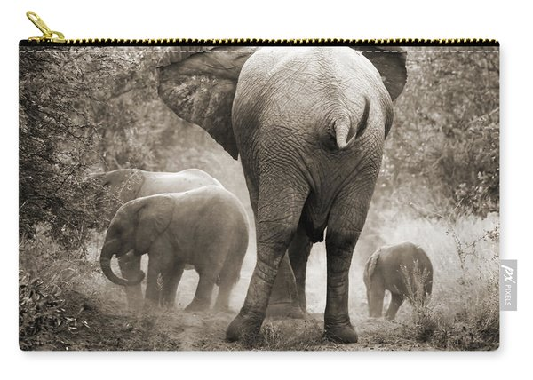 Family Of Elephants Carry-all Pouch