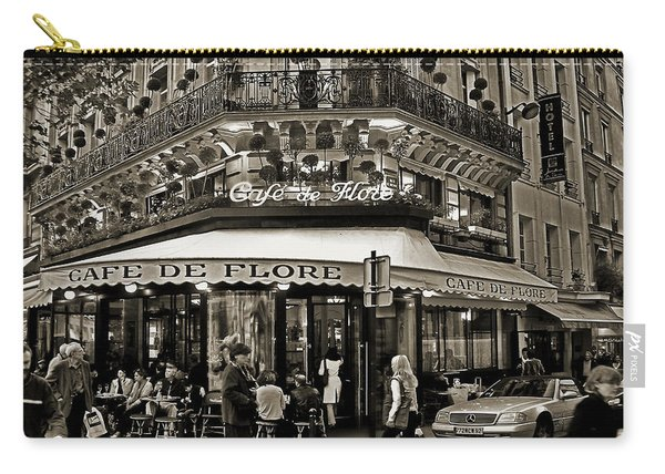 Famous Cafe De Flore - Paris Carry-all Pouch