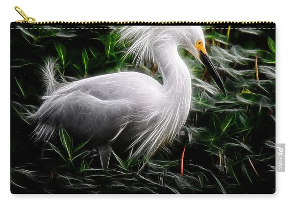 Fancy Feathers Carry-all Pouch